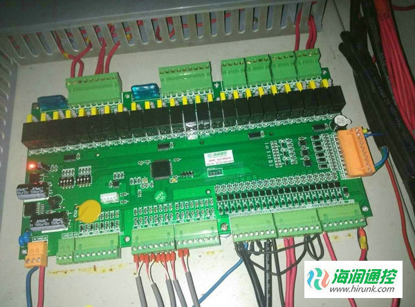 海润通控螺杆机通用控制器主板安装接线