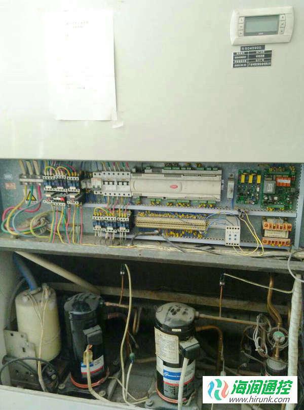 水冷柜式空调控制电路改造,水冷柜机控制器维修实例
