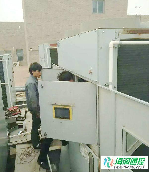 LOTUS劳特斯风冷螺杆机组控制器替换改造