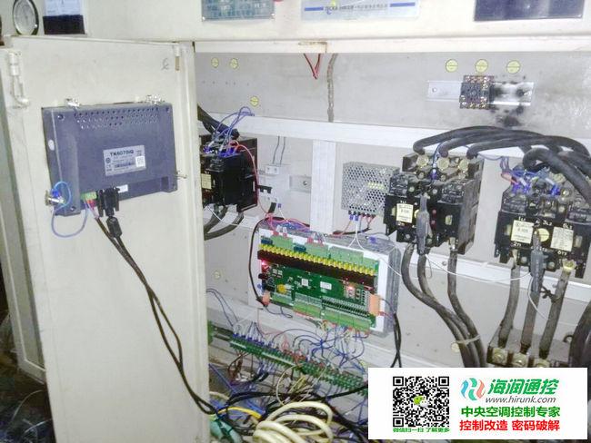 海润通控螺杆机通用控制主板安装