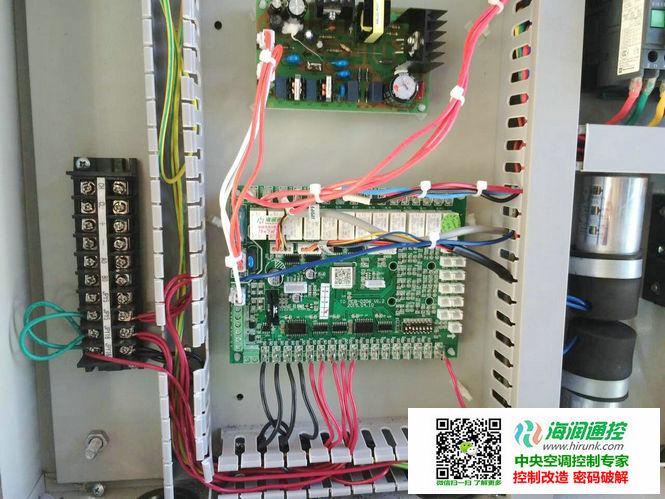 海润通控带电子膨胀阀风冷模块机通用控制器安装