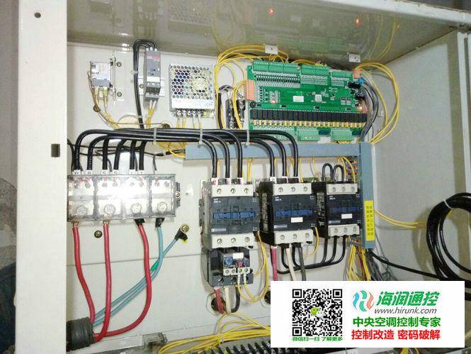 海润通控螺杆机通用控制器安装